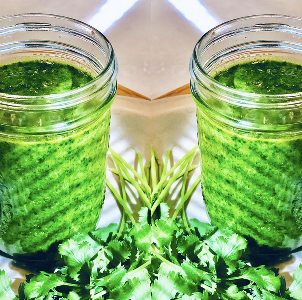 Magical Green Cilantro Sauce