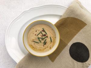Creamy cauliflower soup, non dairy