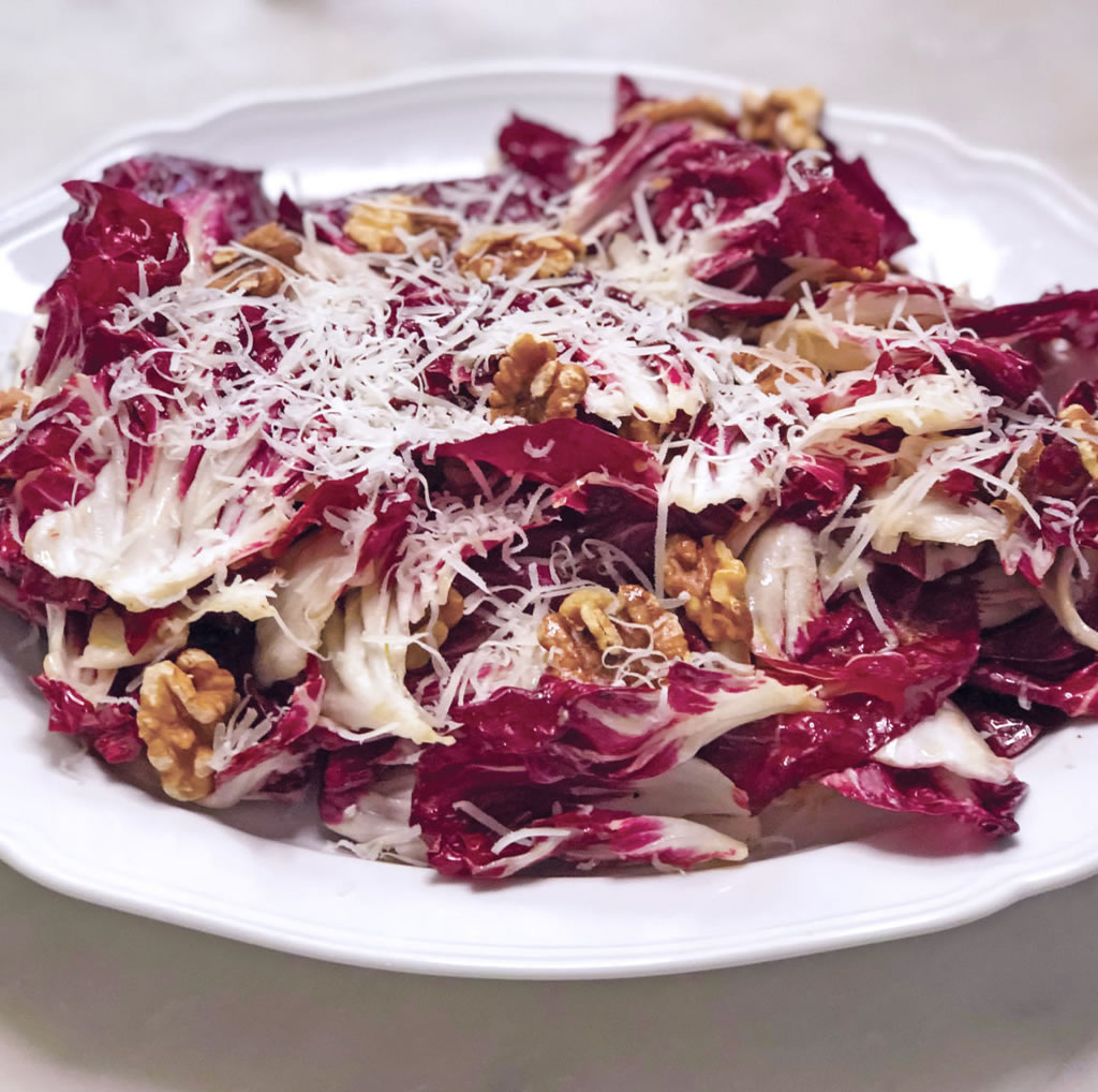 Radicchio and Pecorino Romano Salad
