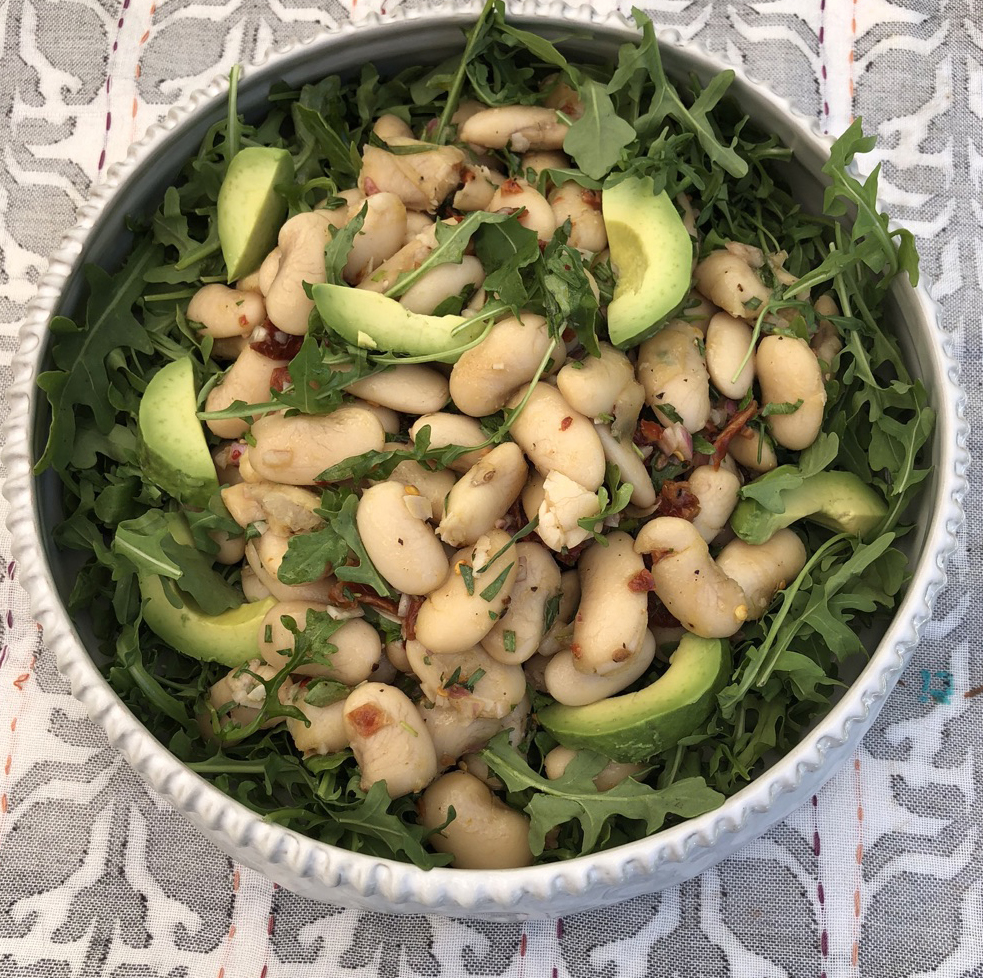 Gigantes Greek Bean Salad