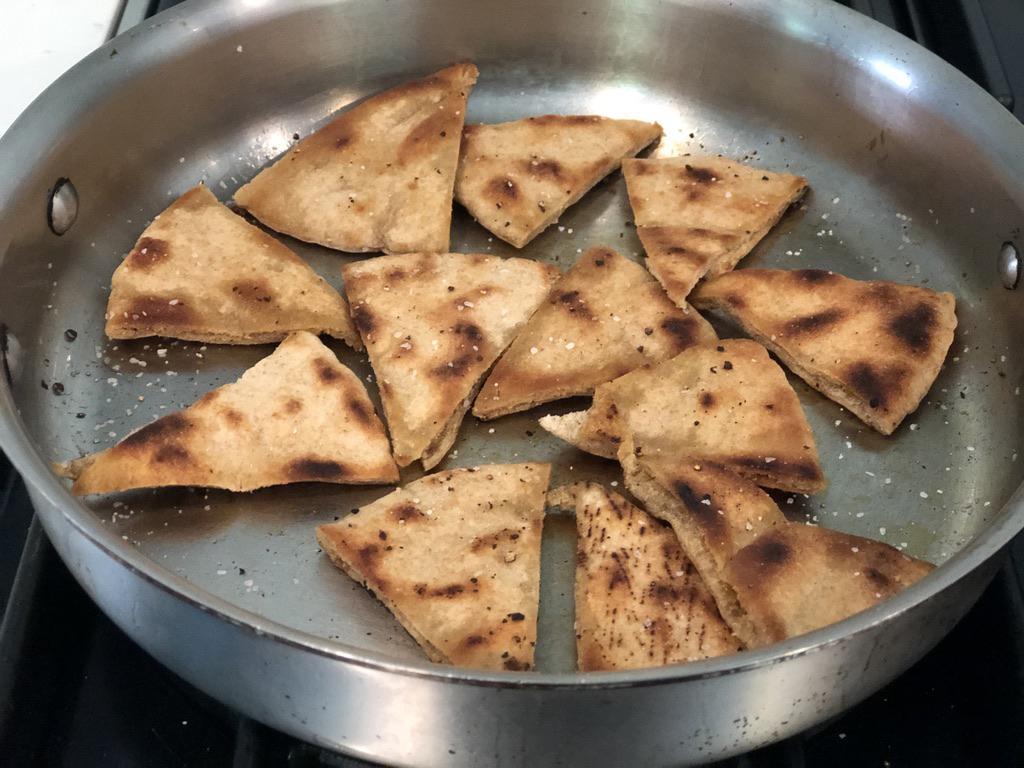 crisp pita chips
