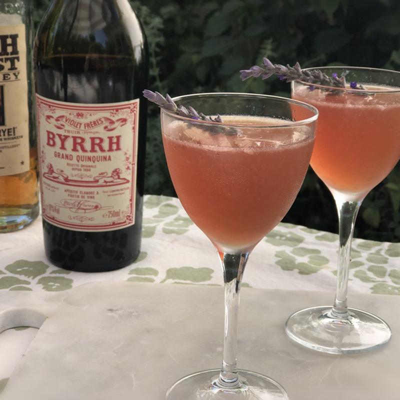 Byrrh, 2 Provence Cocktails