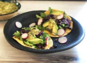 Veggie Tacos with Salsa Verde