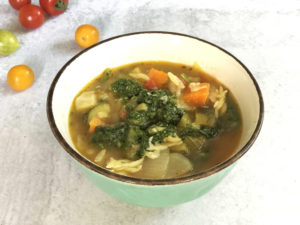 Summer Fresh Minestrone