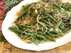 Green Beans and Glass Noodles
