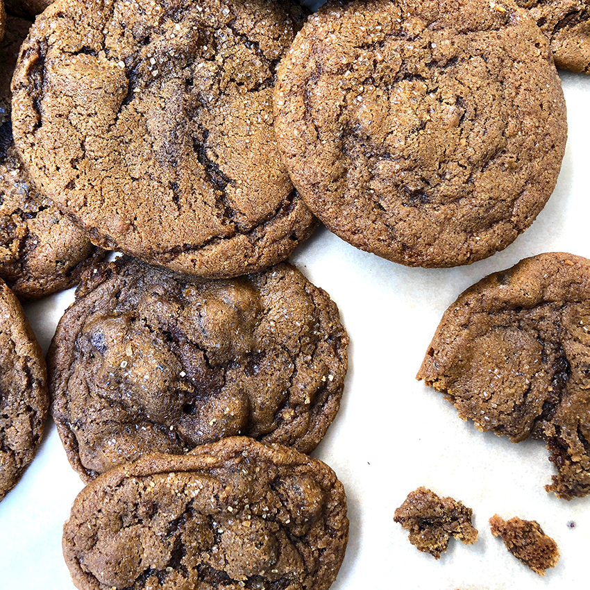 triple Ginger cookies
