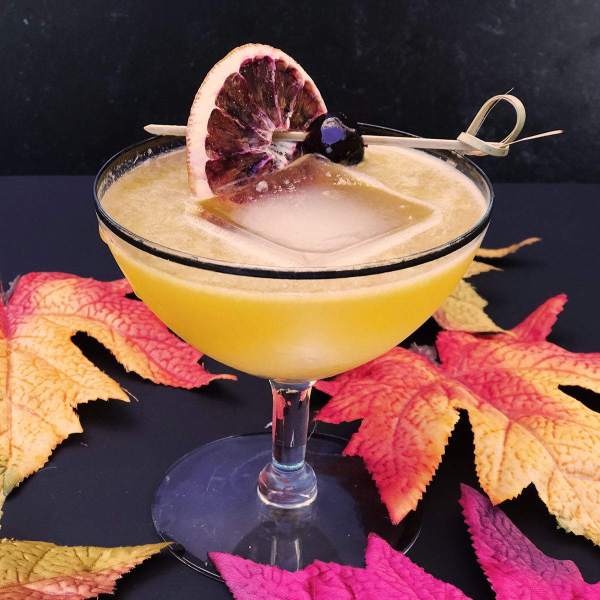 Modern Whisky Sour Cocktail