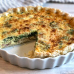 Quiche Lorainne with Rapini and Bacon